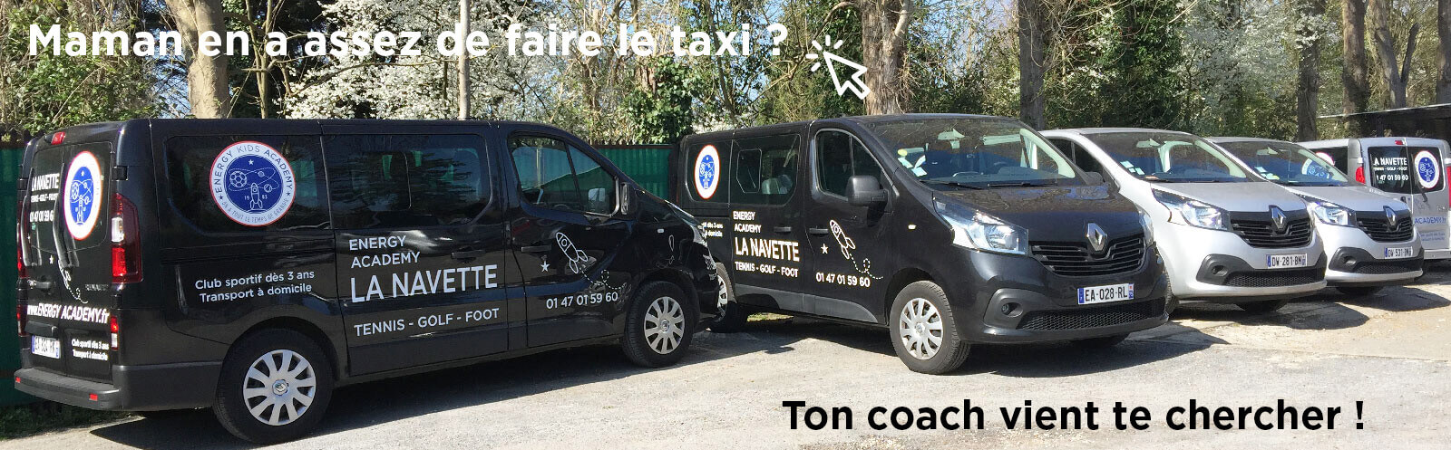 transport service for kids in paris