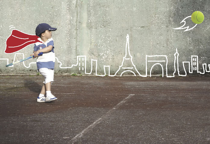 sports lessons for kids at the gymnasium in paris