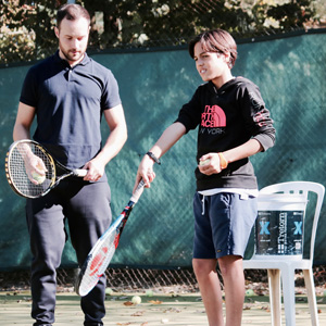 stage tennis enfant paris